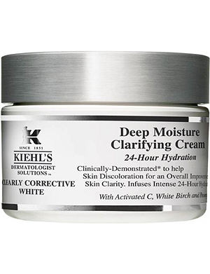 KIEHL'S Clearly Corrective White deep moisture clarifying cream 50ml