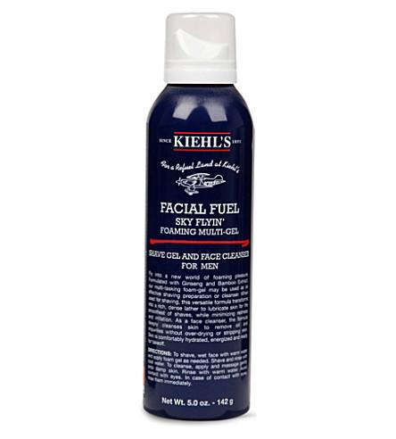 KIEHL'S 面部燃油洁面泡沫凝胶150毫升