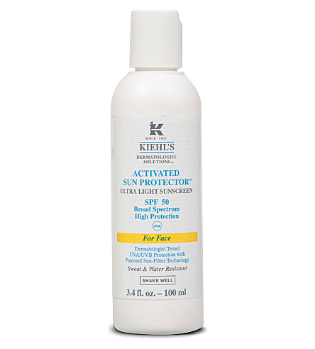 KIEHL'S Activated Sun Protector for Face SPF 50 150ml