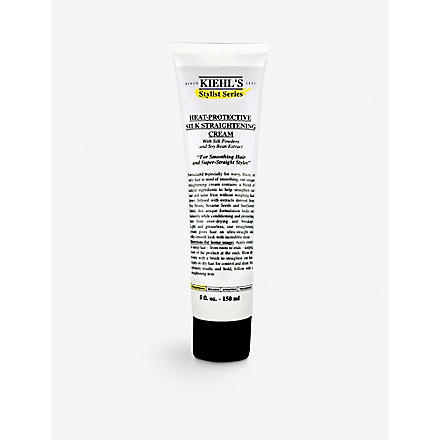 KIEHL'S Heat-protective silk straightening cream 150ml