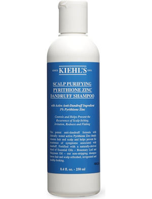KIEHL'S Scalp purifying anti-dandruff shampoo 250ml