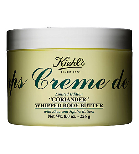 KIEHL'S Limited Edition Crème de Corps coriander-scented whipped body butter 226g