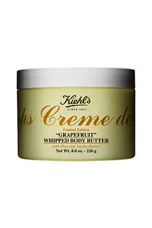 KIEHL'S Limited Edition Crème de Corps grapefruit-scented whipped body butter 226g