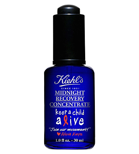 KIEHL'S Alicia Keys Midnight Recovery Concentrate 30ml
