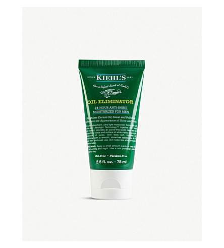 KIEHL'S Men's Oil Eliminator 24 Hour anti-shine moisturiser 75ml