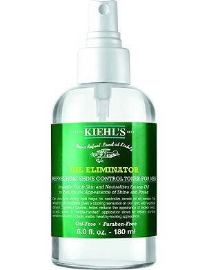 KIEHL'S Men's Oil Eliminator refreshing shine control spray toner 180ml