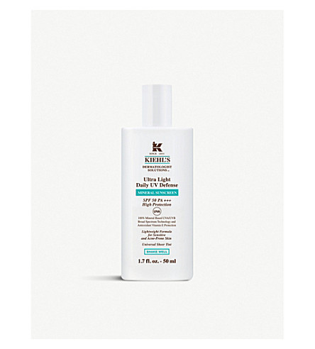 KIEHL'S Ultra Light Daily UV Defense SPF 50 50ml
