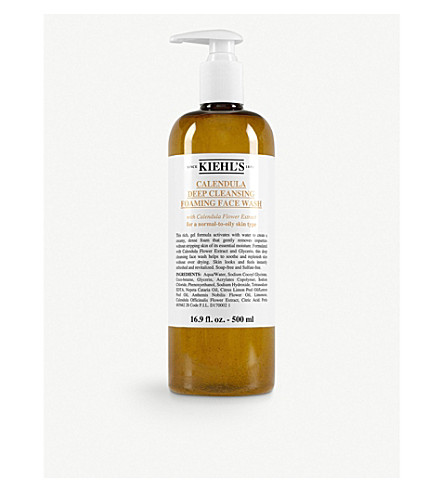 KIEHL'S Deep cleansing foaming face wash