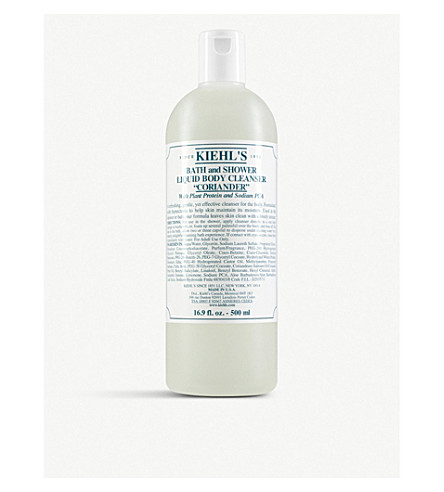 KIEHL'S Coriander Bath & Shower Body Cleanser 1L