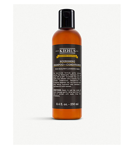 KIEHL'S Grooming Solutions Nourishing Shampoo & Conditioner 250ml