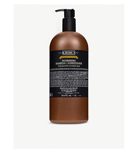 KIEHL'S Grooming Solutions Nourishing Shampoo & Conditioner 1L