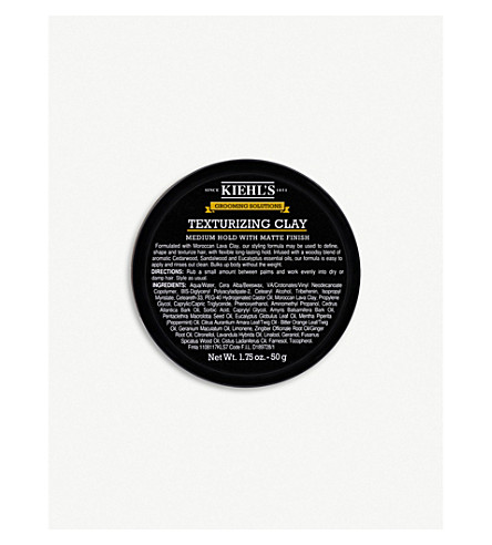 KIEHL'S Grooming Solutions Texturizing Clay 50ml