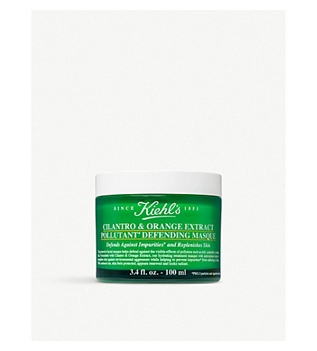 KIEHL'S Cilantro & Orange Extract Pollutant Defending Masque 100ml