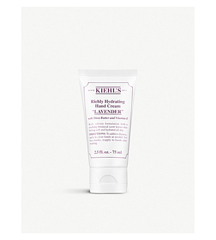KIEHL'S Lavender Richly Hydrating Hand Cream 75ml