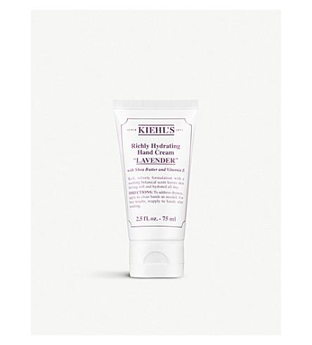 KIEHL'S Lavender Richly Hydrating Hand Cream 75ml