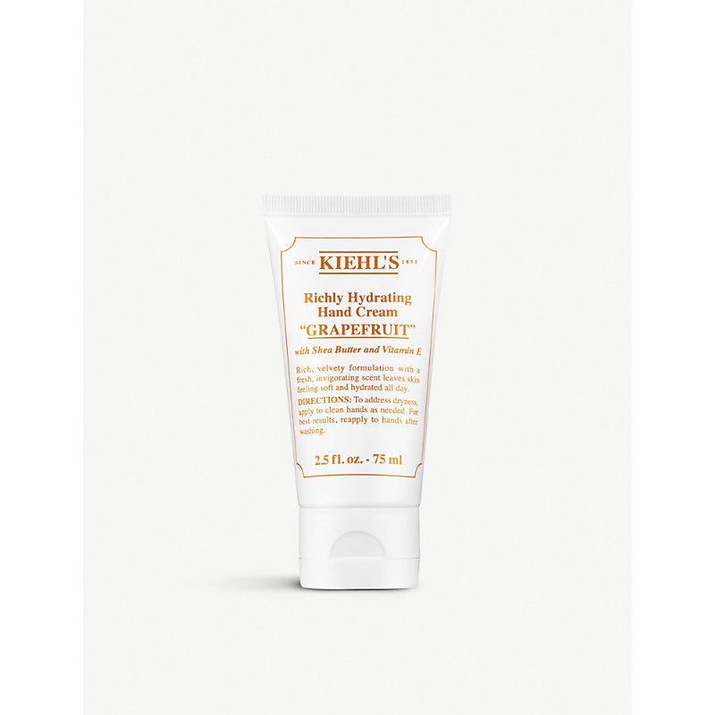 KIEHL'S | Kiehl'S Grapefruit Richly Hydrating Hand Cream 75ml | Goxip