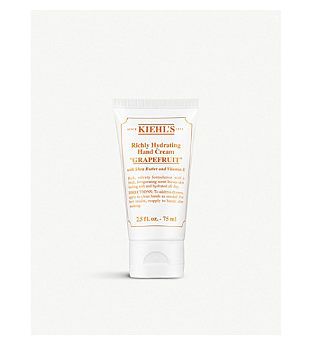 KIEHL'S Grapefruit Richly Hydrating Hand Cream 75ml