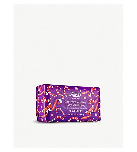 KIEHL'S Limited Edition Lavender Gently Exfoliating Body Scrub Soap 140g
