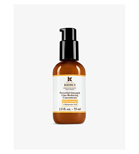 KIEHL'S Powerful Strength Line-Reducing concentrate serum 75ml