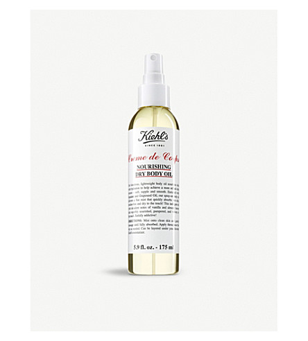 KIEHL'S Crème de Corps Nourishing Dry Body Oil 175ml
