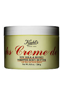 KIEHL'S Eric Haze Crème de Corps Soy Milk & Honey whipped body butter