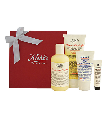 KIEHL'S Creme de Corps holiday gift set 2014