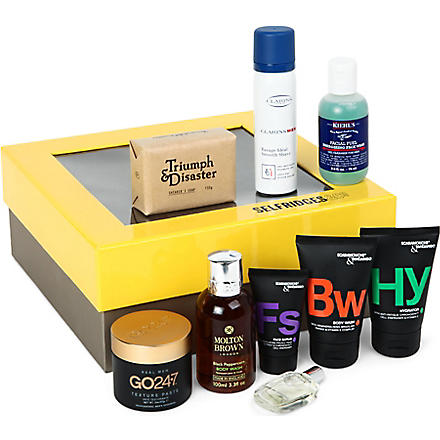 MENS GROOMING BOX Men's Grooming Box