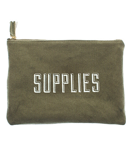 IZOLA Supplies cotton pouch