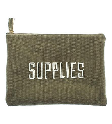 IZOLA Supplies cotton pouch
