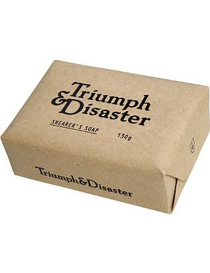 TRIUMPH & DISASTER Shearer's soap