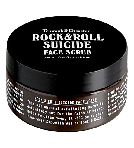 TRIUMPH & DISASTER Rock & Roll Suicide face scrub 100ml