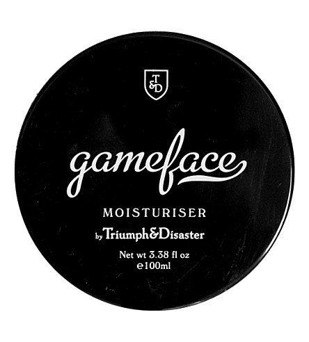 TRIUMPH & DISASTER Gameface moisturiser 100ml