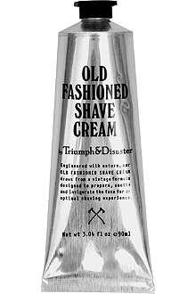 TRIUMPH & DISASTER Old-fashioned shave cream tube