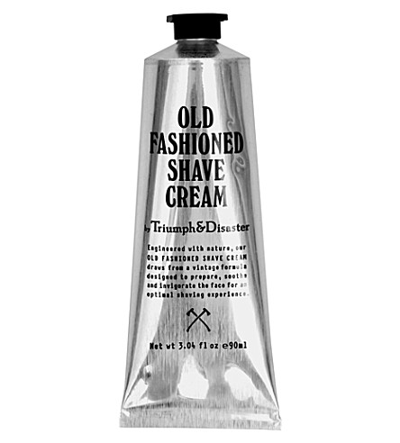 TRIUMPH & DISASTER Old-fashioned shave cream tube 90ml