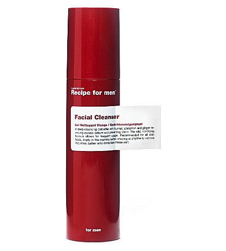 RECIPE FOR MEN Facial Cleanser 100ml