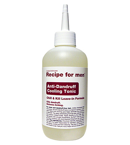 RECIPE FOR MEN Anti-dandruff cooling tonic 250ml
