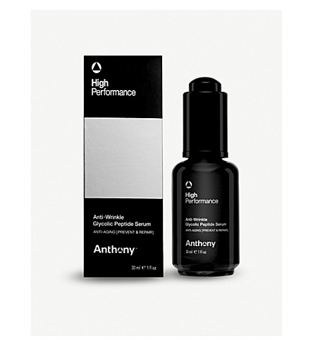 ANTHONY ANTI-WRINKLE GLYCOLIC PEPTIDE SERUM 30ML