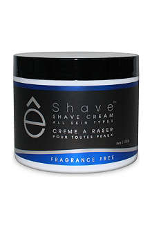 ESHAVE Fragrance Free shaving cream
