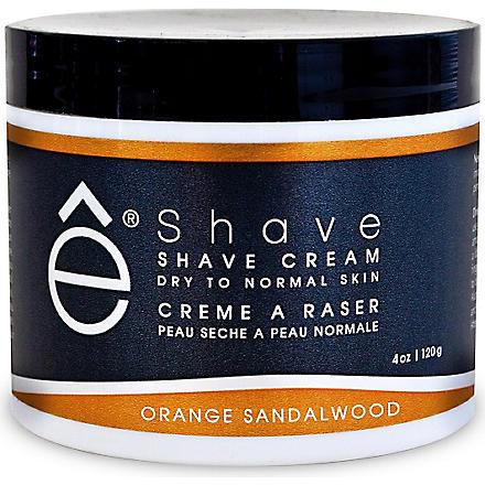 ESHAVE Orange Sandalwood shave cream