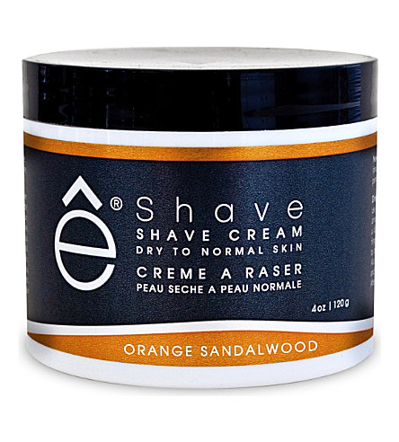 ESHAVE Orange Sandalwood shave cream