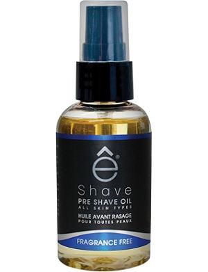 ESHAVE Fragrance Free pre shave oil