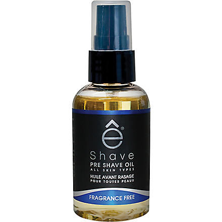ESHAVE Fragrance Free pre shave oil