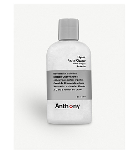 ANTHONY Glycolic Facial Cleanser 237ml