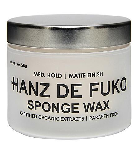 HANZ DE FUKO Sponge Wax 56g