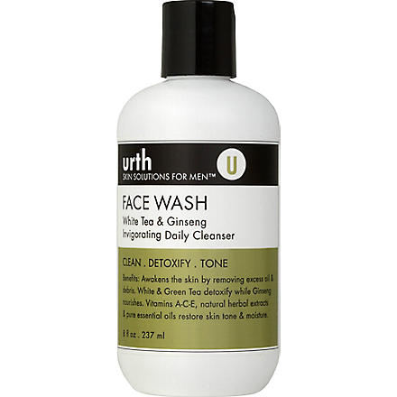URTH SKIN SOLUTIONS White Tea & Ginseng invigorating daily cleanser