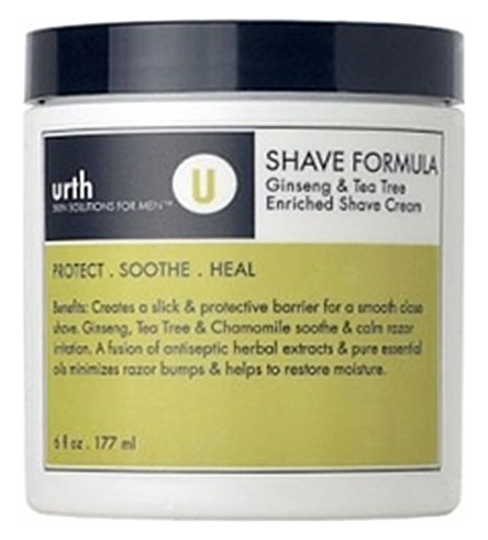 URTH SKIN SOLUTIONS Ginseng & Tea Tree enriched shave formula
