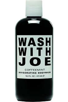 WASH WITH JOE Coffeemint invigorating body wash