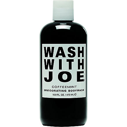 WASH WITH JOE Coffeemint invigorating body wash