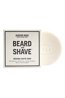 HUDSON MADE Original white beard & shave soap 100g
