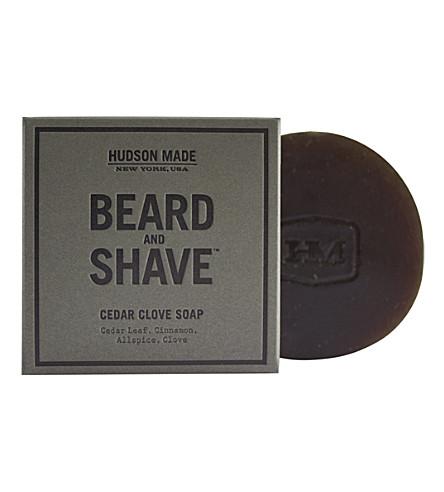 HUDSON MADE Cedar Clove beard & shave soap 100g